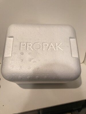 Propak Insulated Carton With Shipping Cooler 11 X 7 X 9 New