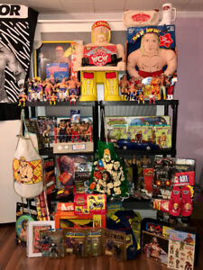 Vintage WWF WWE Wrestling Figures Collectibles LJN Toys 1980's