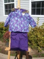 Baby Girl's new snowsuit size 18 months