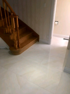 Tile and flooring installers available now for hire