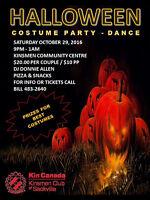 Halloween Dance in Sackville