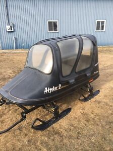 Alpha 2 Snowmobile sleigh