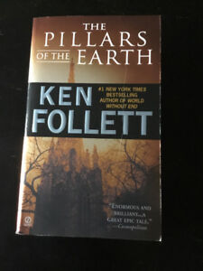 The Pillars of the Earth by Ken Follett - brand new, paperback