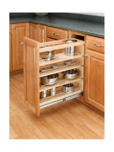 REV A SHELF SLIDE OUT RACK kitchen cabinet