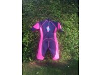 Women's/girls shorty wetsuit for sale