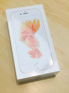 Apple iPhone 6s rose gold 64GB in stock UNLOCKED new receipt
