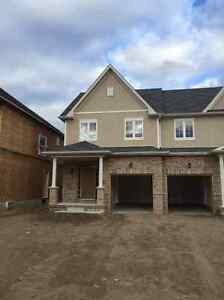 Brand new 3bdrm Semi-detached  in Downtown core , Kitchener East