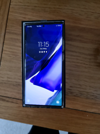 Samsung Note 20 ultra 5g 256gb in white