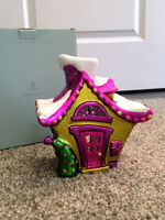 "'PartyLite' ""Jollyville"" tealight Christmas house"