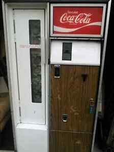 Vintage Coke machine.  All trades welcomed.