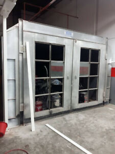 Spray Booth For Sale