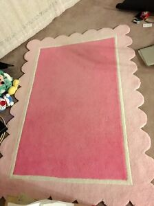 Carpet and foot stool organizer for sale pink