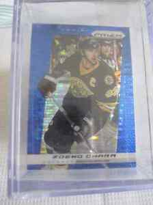 """2013-14 PANINI PRISM """"ROOKIES"""" BLUE CRACKED ICE 1-200"""