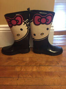 Rain Boots ( Hello Kitty )