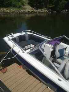 16 ft bowrider and trailer