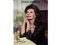 Dolce and Gabbana lipstick Sophia Loren
