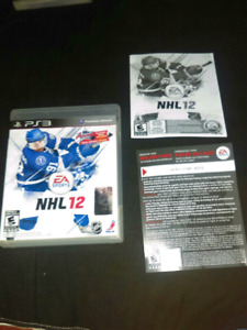 NHL 12 (PS3 GAME)