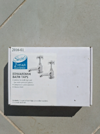 Bathroom tap set - matching bath and sink