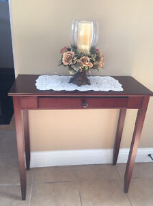 Small Solid Wood Entryway/Hall Table