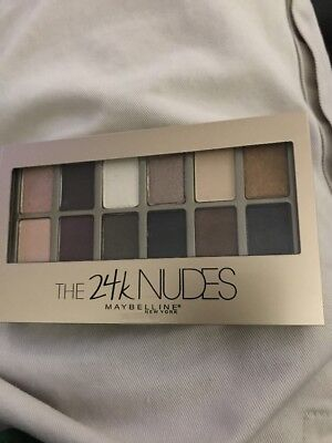 Maybelline New York The 24k Nudes 12 Eyeshadow Palette Matte and Shimmer Shadows