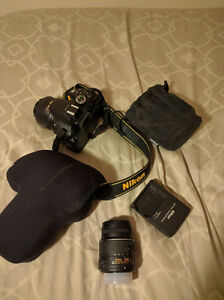 Nikon d5200 with 55mm and 35mm
