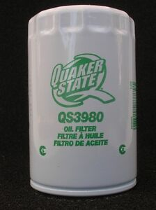 Quaker State QS3980 Automotive Motor Oil Filter - New Stock