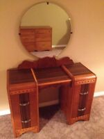 AWESOME antique vanity