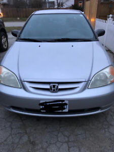 2002 Honda Civic LX coupe Coupe (2 door)
