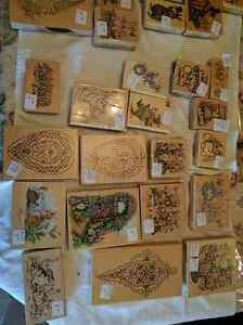 New & gently used rubber art stamps for sale Kawartha Lakes Peterborough Area image 1