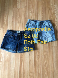 Women's Jeans/shorts/Capris and shirts