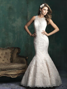 Allure wedding Dress C350 size 14