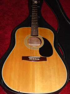 VINTAGE AND VERY SWEET  DREADNOUGHT ACOUSTIC GUITAR