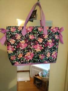 Floral tote bag brand new