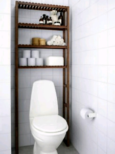 Molger above toilet shelves storage unit organizer