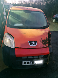PEUGEOT BIPPER S 1.4 HDI IN RED 2010 (59) **BREAKING** FOR PARTS