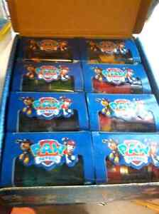 PAW PATROL'S MOVABLE ACTION IN CARS @ $10 each or $70 set