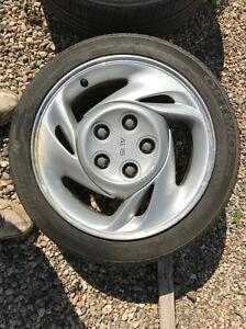 All four rims and tires off fire bolt five bolt pattern