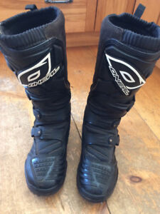 O'Neal motocross boots sz 9  (dirt bike boots) barely worn