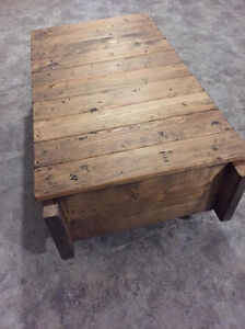 Handcrafted Coffee Tables, End Tables & Cabinetry