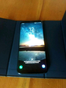 Samsung S8 64gb cell phone, works perfectly, no scratches.