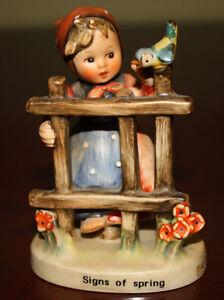 Gorgeous Hummel Figurine Nº 203 2/0, Signs of Spring – TMK 4 Kingston Kingston Area image 1