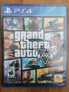 Grand theft auto 5 ps4 neuf toujours dans emballage