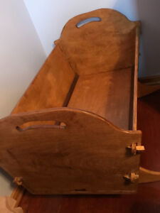 Doll or newborn cradle for sale