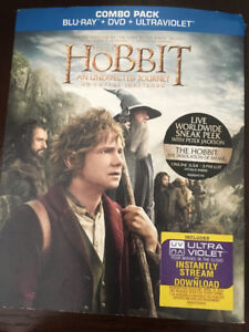 The Hobbit An Unexpected Journey -Combo Pack Movie