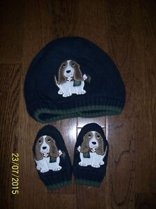 Gymboree 'Canine Academy' Toque & Mitts, Size 2T-5T