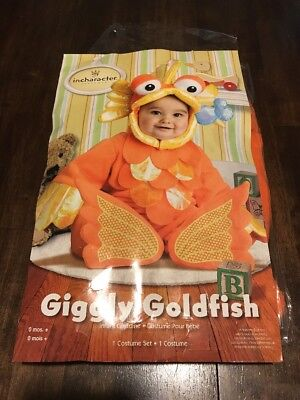 Giggly Goldfish Costume Infant M(12-18 Months)