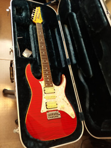 1992 Ibanez RT650, Trans Red, Japanese Made, w/ OHSC
