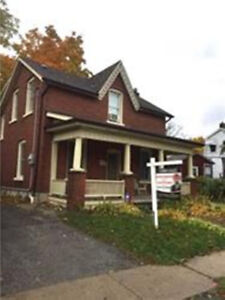 Charming 3 Bdrm House Located In The Heart Of Downtown Brampton.