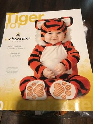 Tiger Tot Costume Infant Small (6-12 Months) Free (Tiger Tot Kostüm)