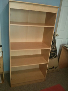 Solid Engineered wood Storage / Book Case almost New